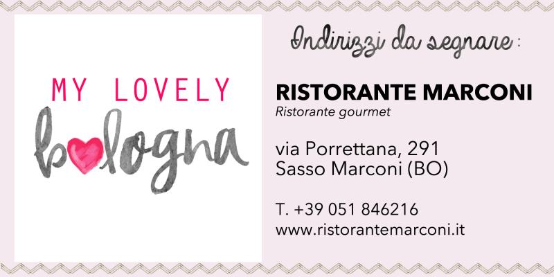 Ristorante Marconi Bologna contatti