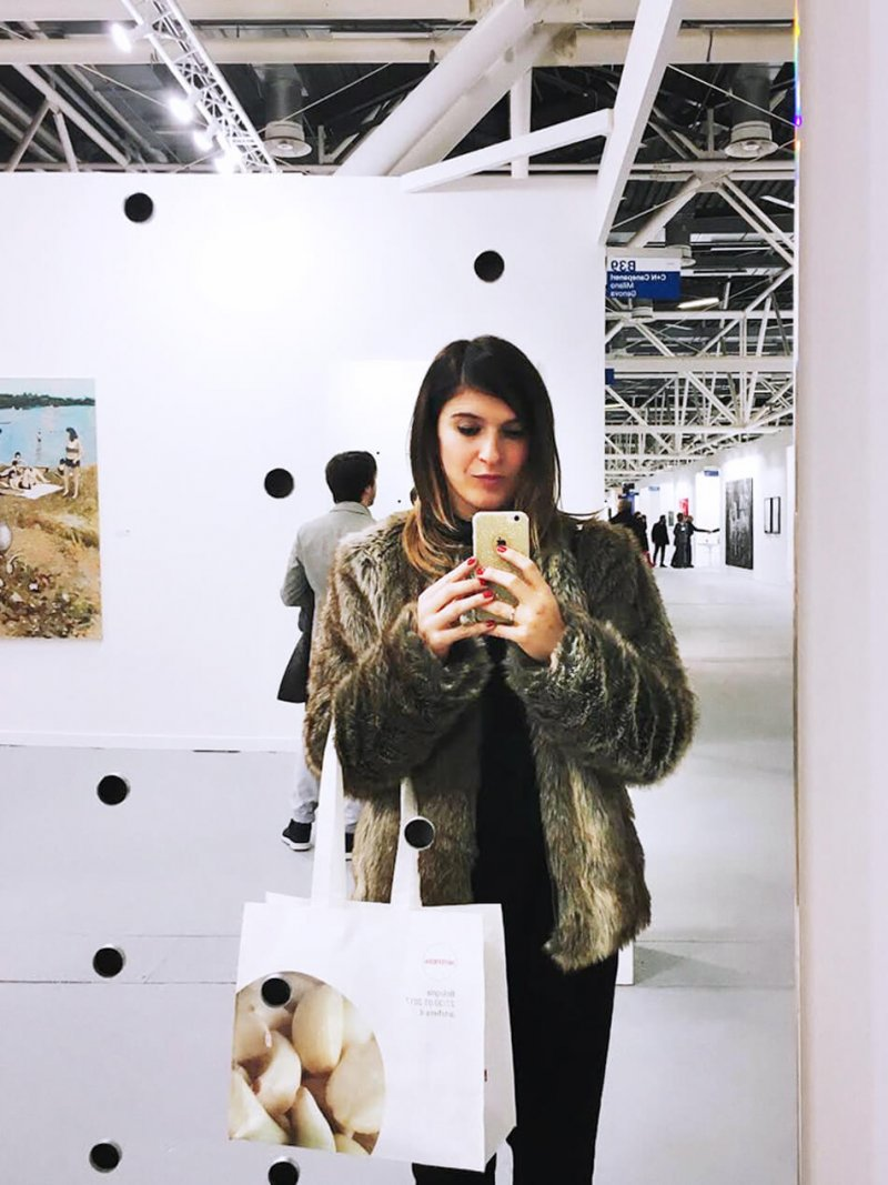 Valeria Moschet Artefiera Bologna 2017