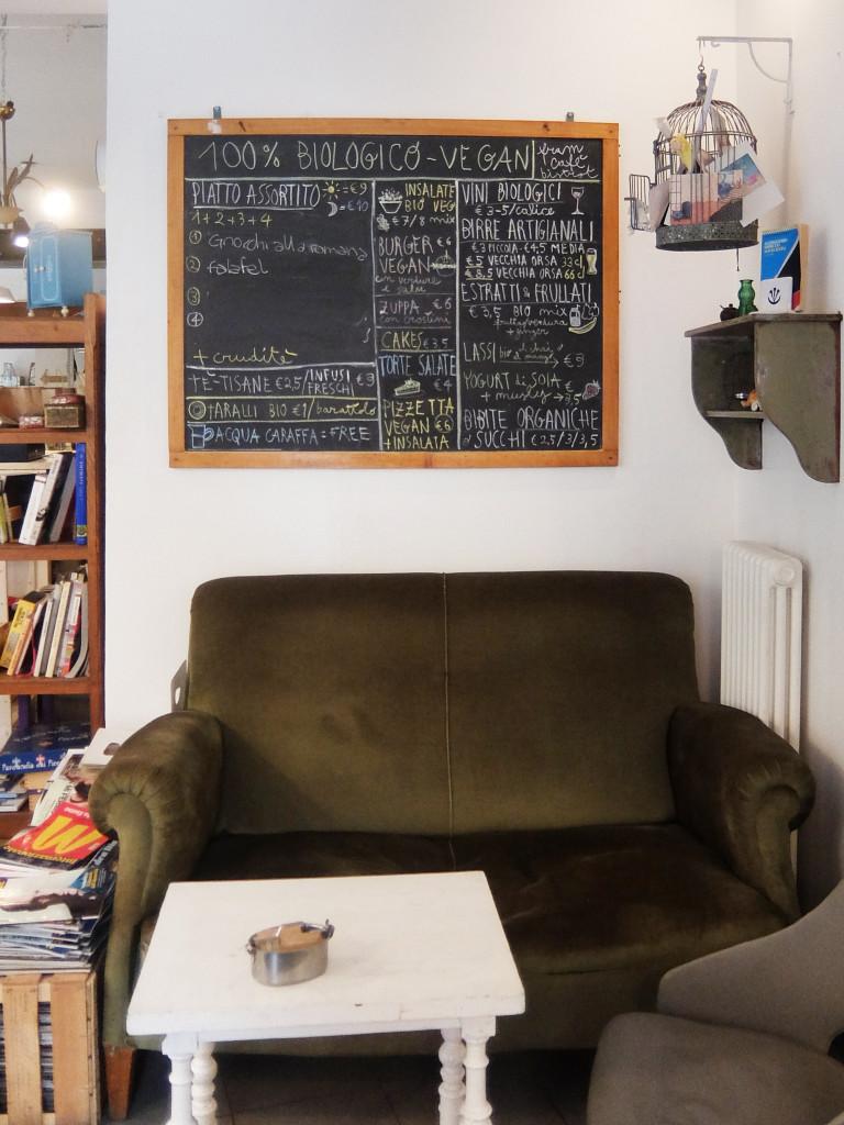 Menu Fram Cafe Bologna