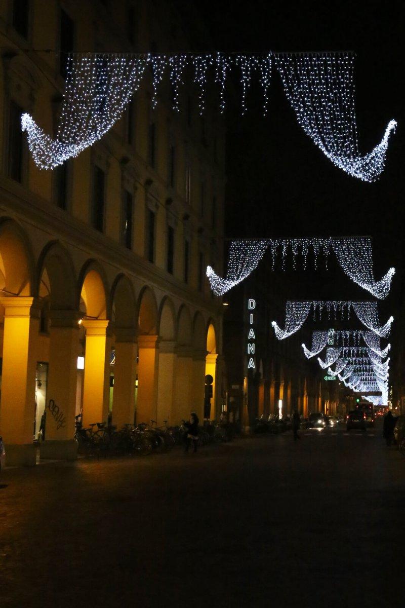 Bologna via Indipendenza Natale 2015