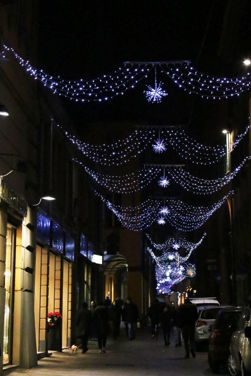 via Oberdan Bologna Natale 2015