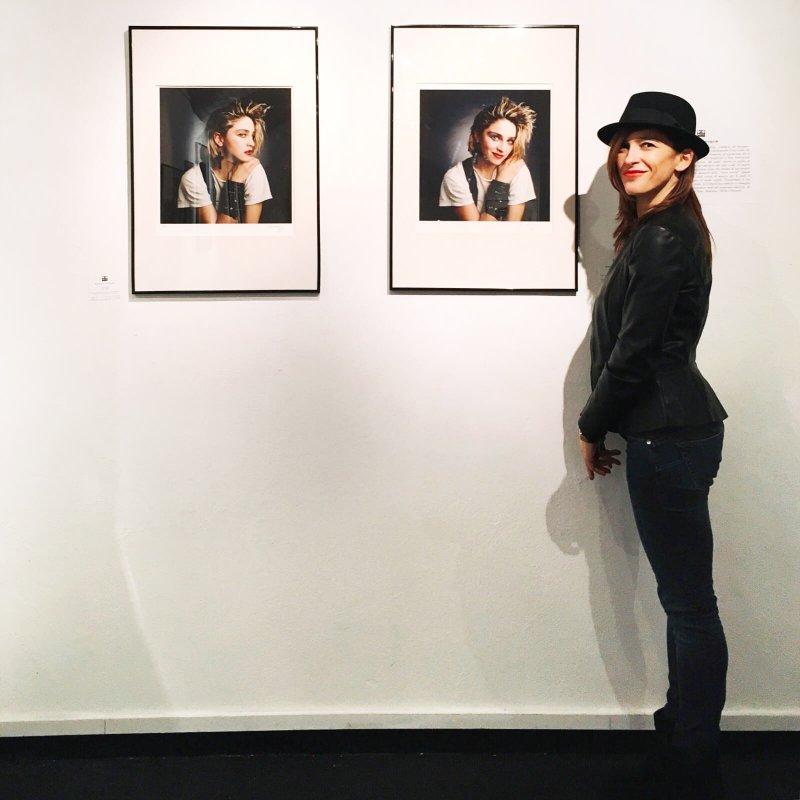 Valeria mostra Madonna_ OnoArte Bologna
