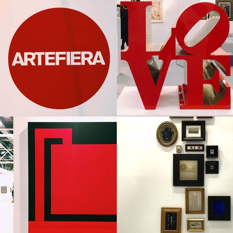 Collage Arte Fiera Bologna