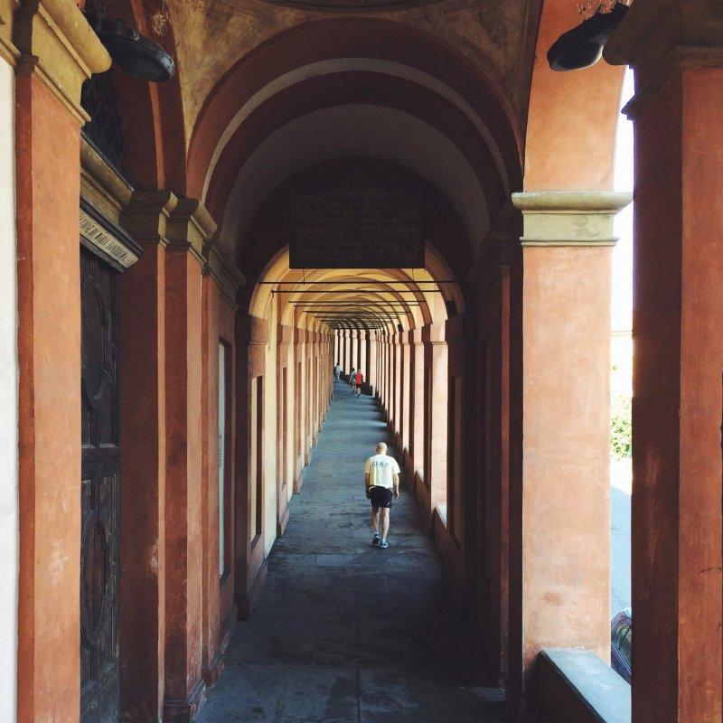 Portici San Luca Bologna