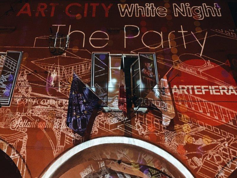 Party Ascom Art City White night Bologna