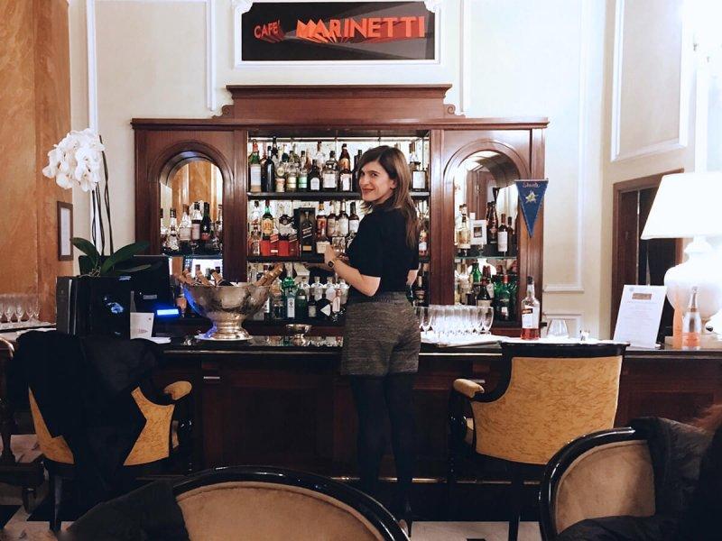 Valeria Moschet Hotel Baglioni Bologna