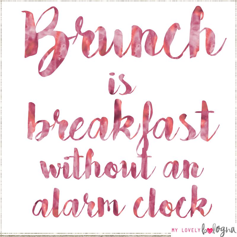 brunch quote