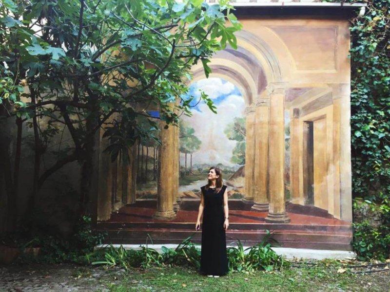 Giardino segreto Piazza Aldrovandi Bologna