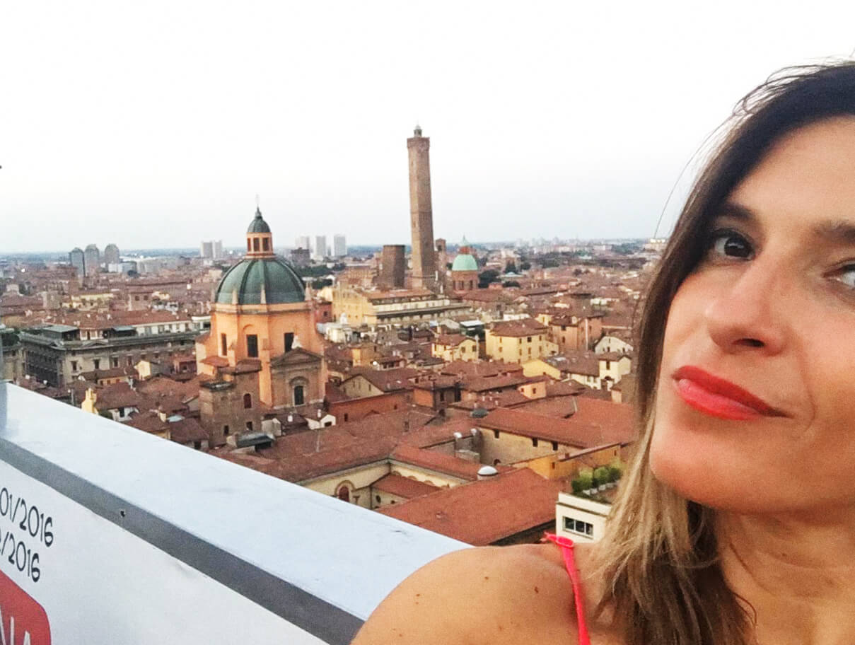 A Special View Over Bologna San Petronio S Terrace My